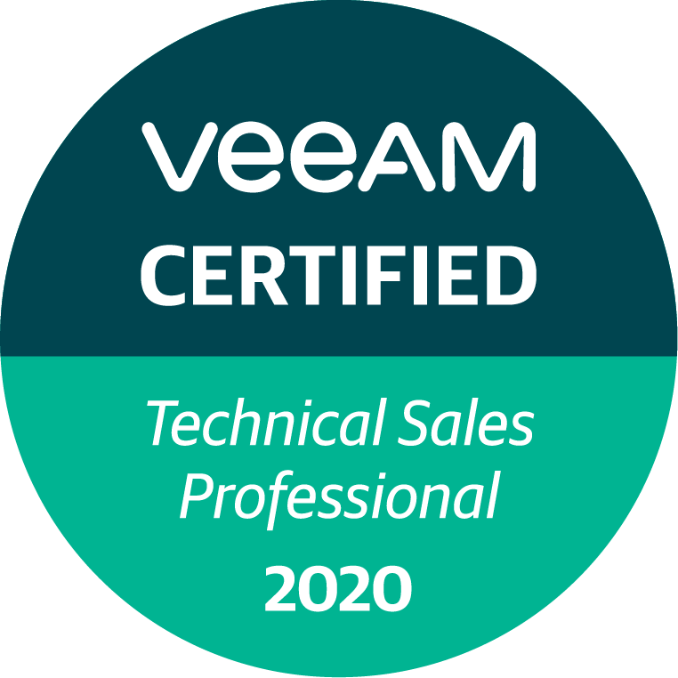 Veeam Certified - Computerplus Partner